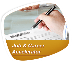 Learning Express Library Job and Career Acceleratorr logo