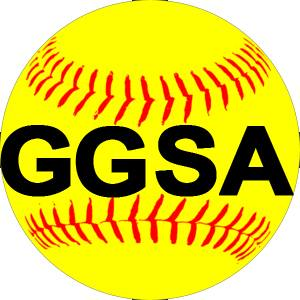 Garland Girls Softball Association Logo