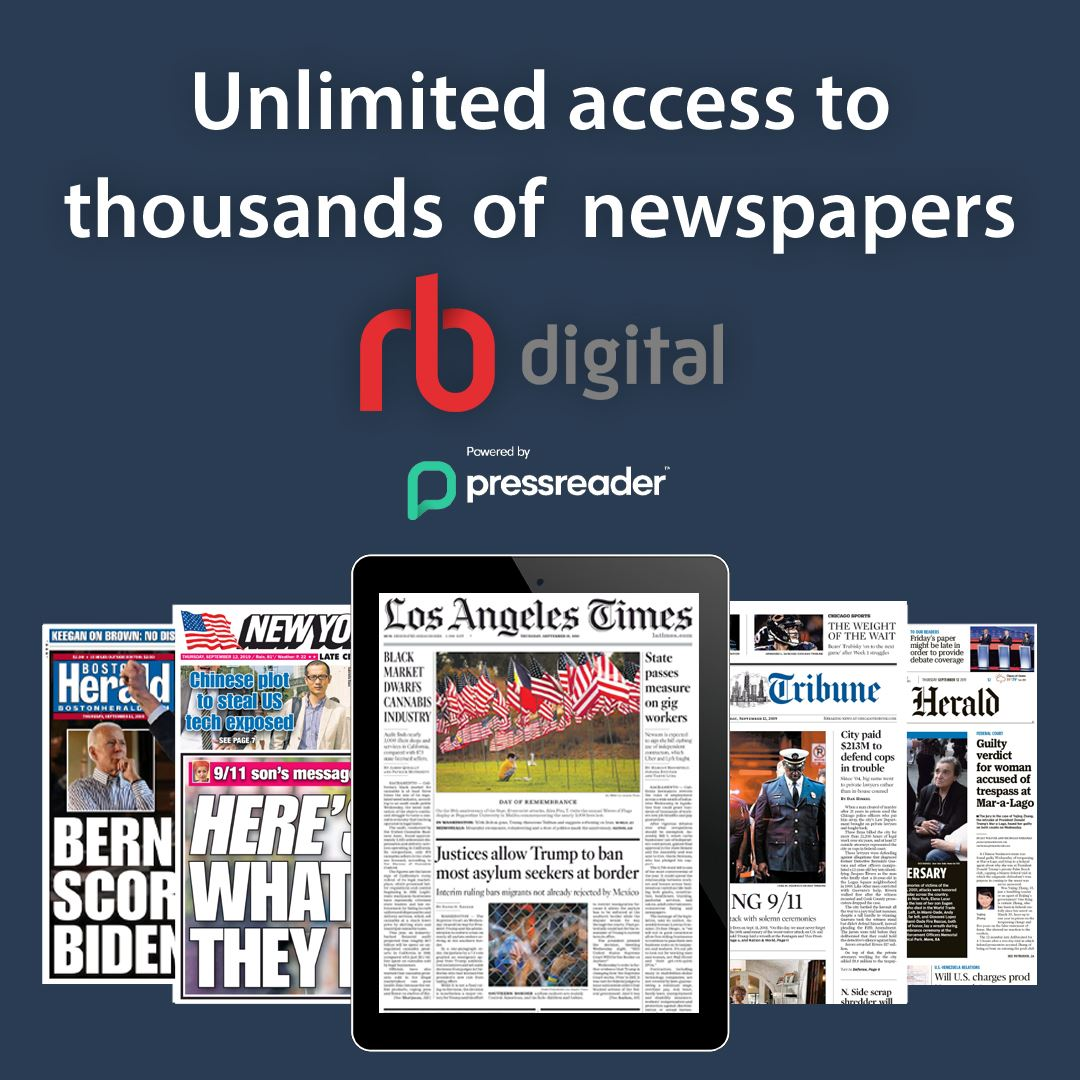 PressReader unlimited newspapers
