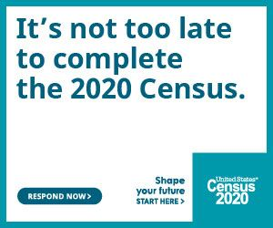 Sept. 30 is the deadline for participation in the 2020 Census.