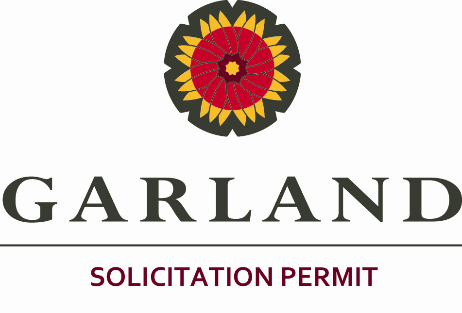 City of Garland Solicitation Permit Logo